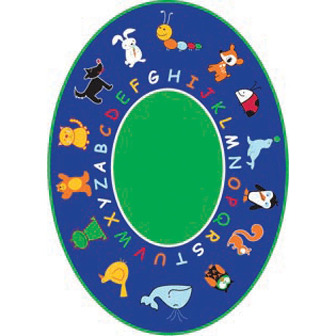 *Special Offer* Fun With Animals Oval Rug