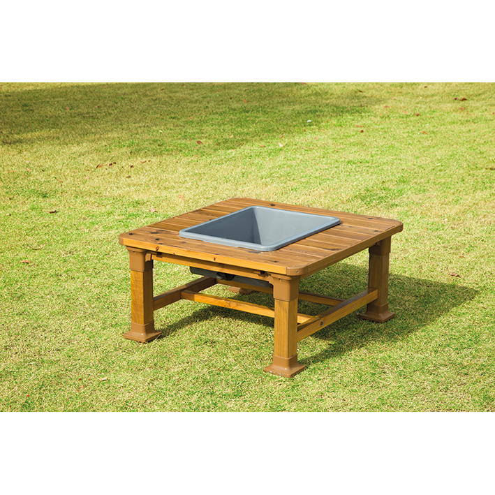 Outdoor Square Messy Table